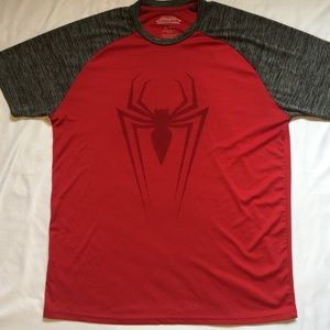 Marvel Ultimate Spiderman Mens Compression Shirt